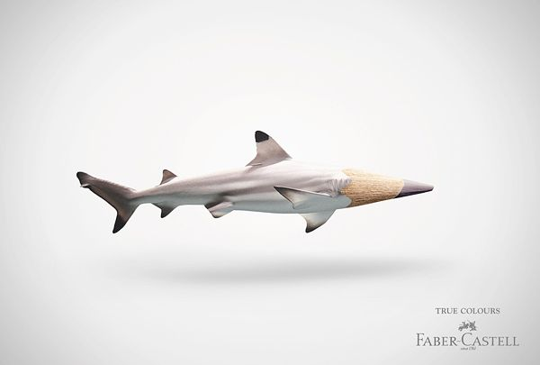 Faber-Castell creative ads - really cool concept!