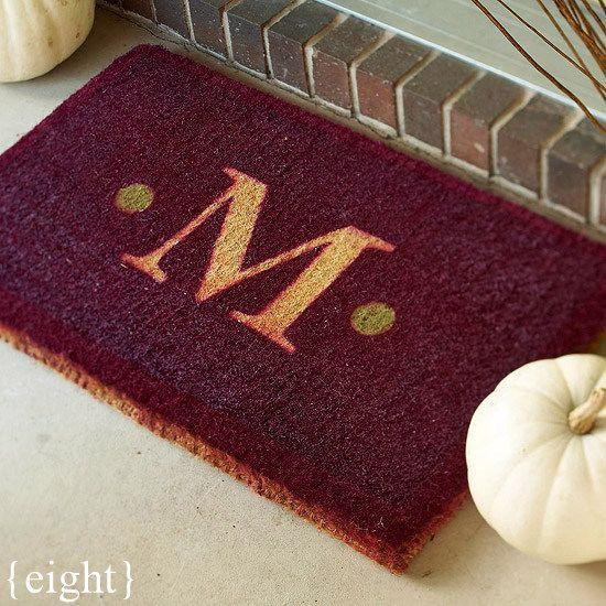 Creative Door Mats You Can Make Yourself Tuesday Ten Diy Welcome Mats Diy Home Decor Diy Decor