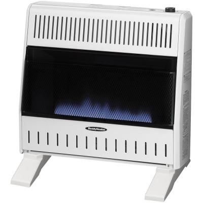 Reddy Heater 30 000 Btu Blue Flame Dual Fuel Wall Heater With