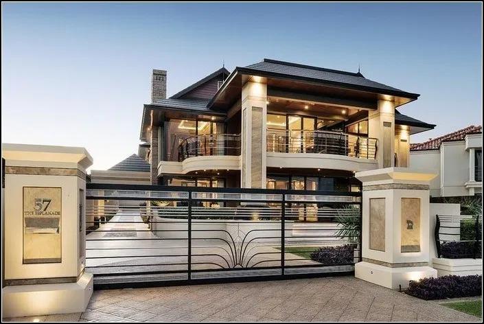 142 Stunning Modern Dream House Exterior Design Ideas Page 33 House Designs Exterior Dream House Interior Modern House Design