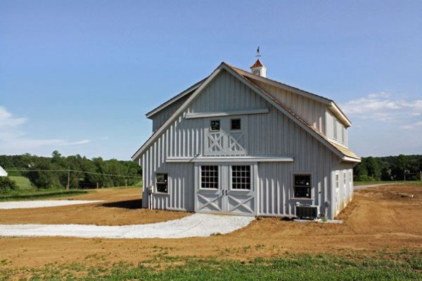 Custom Horse Barn & Apartment by Stoltzfus Construction of ...