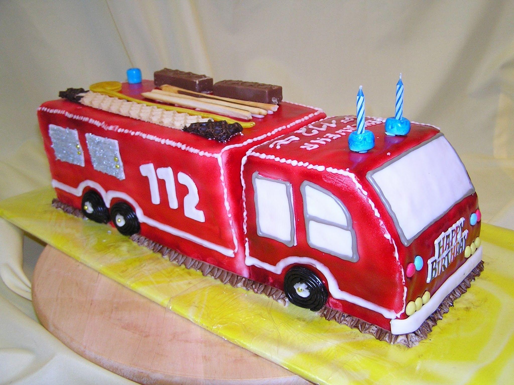 картинки торт пожарная машина кремом человек духовный хочешь