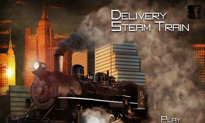 لعبة قطار توصيل البضائع لعبة حلوة من العاب سيارات الرائعة جدا علي
