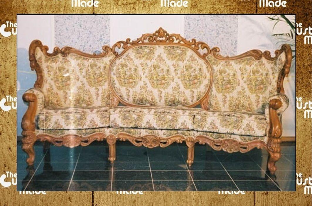 Royal Maharaja Sofa In Solid Rosewood Handcrafted Sofa Set Of 3 1
