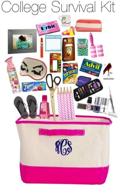 College Girls Survival Kit Survival kits Survival and College
