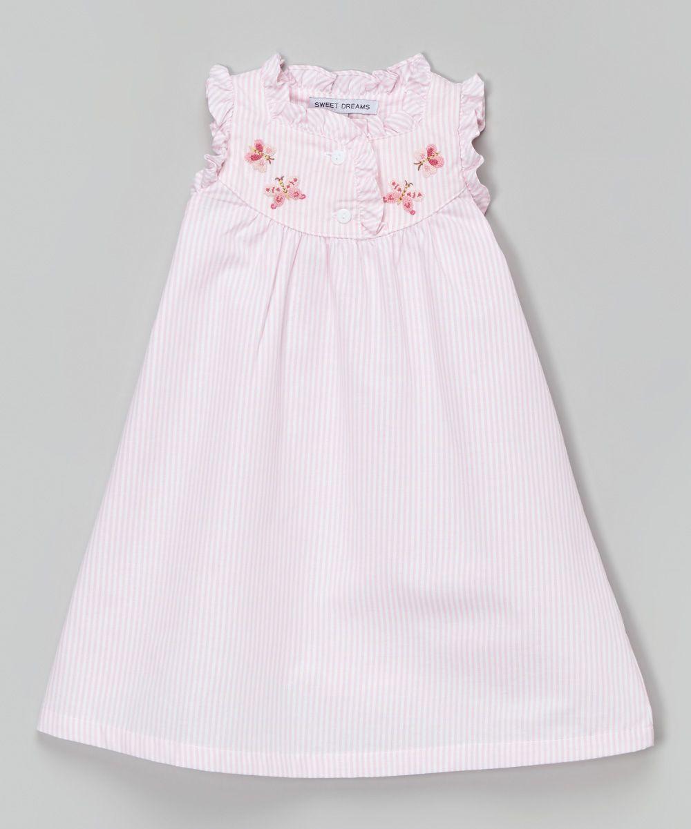 Pink Butterfly Dress Infant, Toddler & Girls