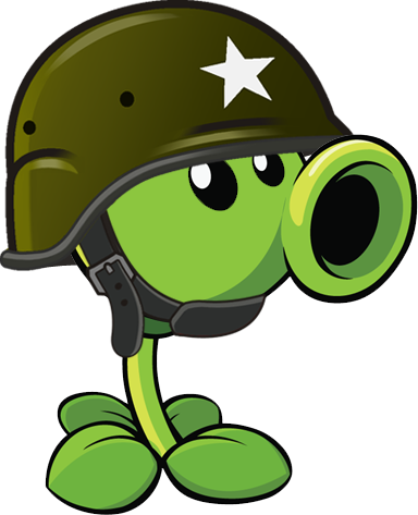 Plants vs zombies 2 gatling pea r by illustation16 on deviantart plants vs zombies 2 gatling pea r voltagebd Image collections
