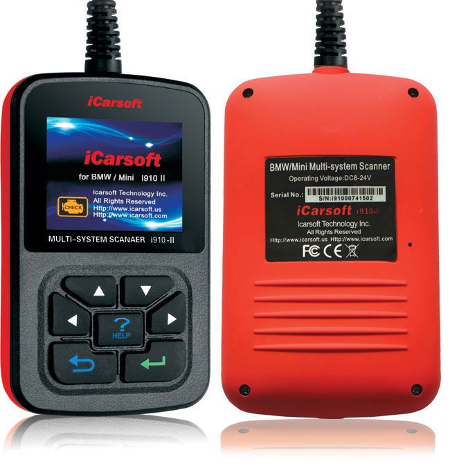 iCarsoft i910 II OBD2 OBDII Reset Scan Tool for BMW MINI