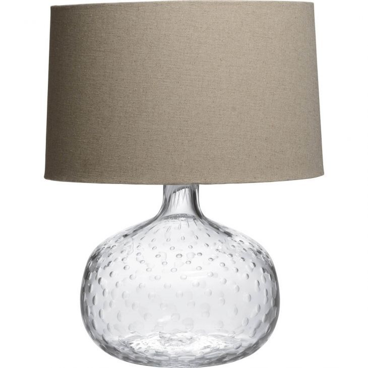 Simon pearce celestial air table lamp shade not included