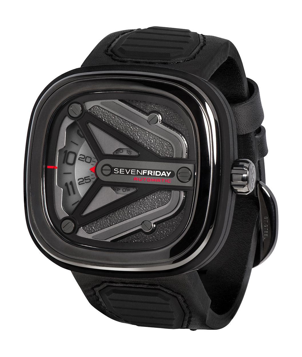 106ec978746 New Release  SEVENFRIDAY M3 01 Spaceship - Stainless Steel Case