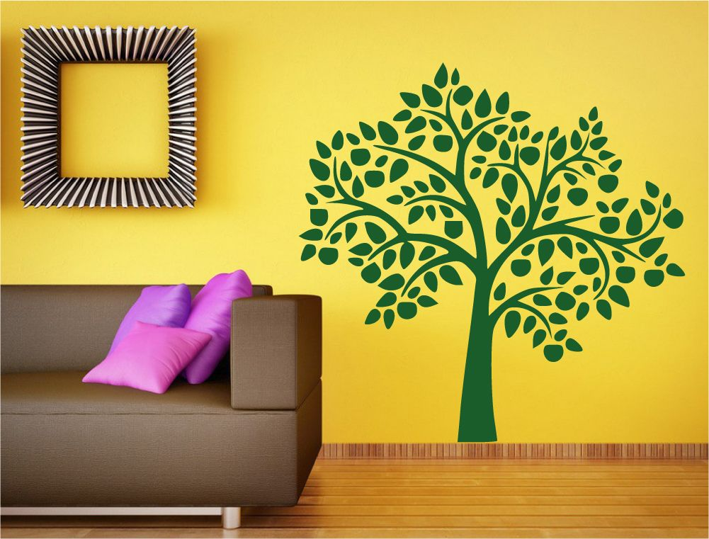 Large tree wall decal | Tree wall sticker - Aspect Wall Art | Nature ...