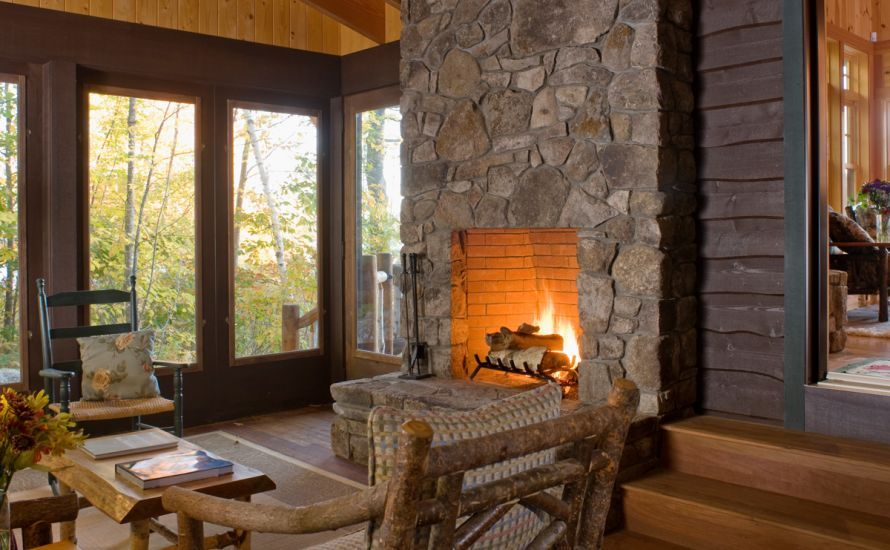 This Residence Houses A Main Level Master Suite Guest Suite And