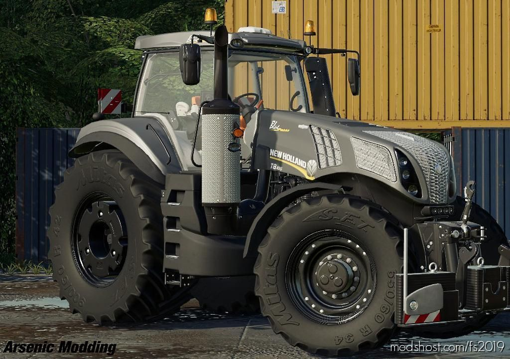 Download News Holland T8 mod for Farming Simulator 19 at