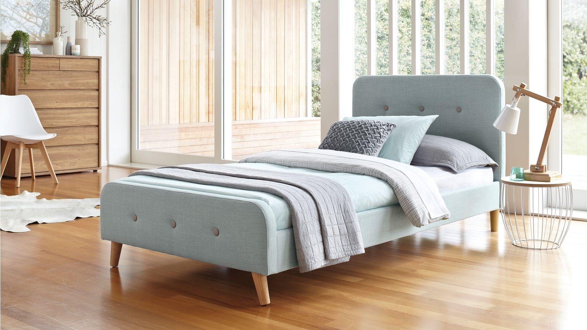 Calypso King Single Bed Frame By Nero Furniture Single Bed Frame