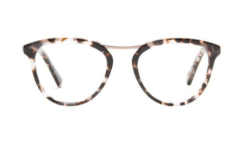 Lunettes tendance Oeil de chat Ronde Optiques Femmes Reef Sand ... 32e3232087de