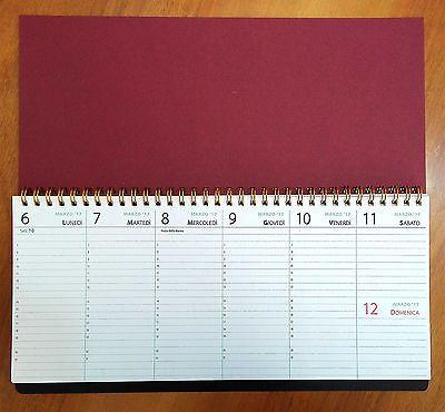 N 3 planning 2017 2018 da tavolo con date da oggi fino a dic 39 18 calendario calendari - Calendari da tavolo 2018 ...
