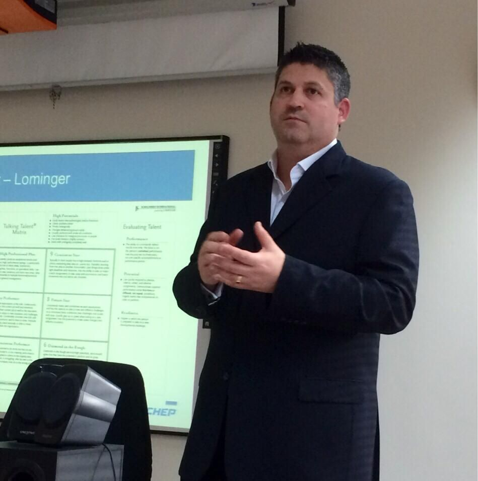 """Enjoyed the workshop about """"Leadership Development: Best Practices"""" by Paul Kinsella, Regional Director at CHEP."""
