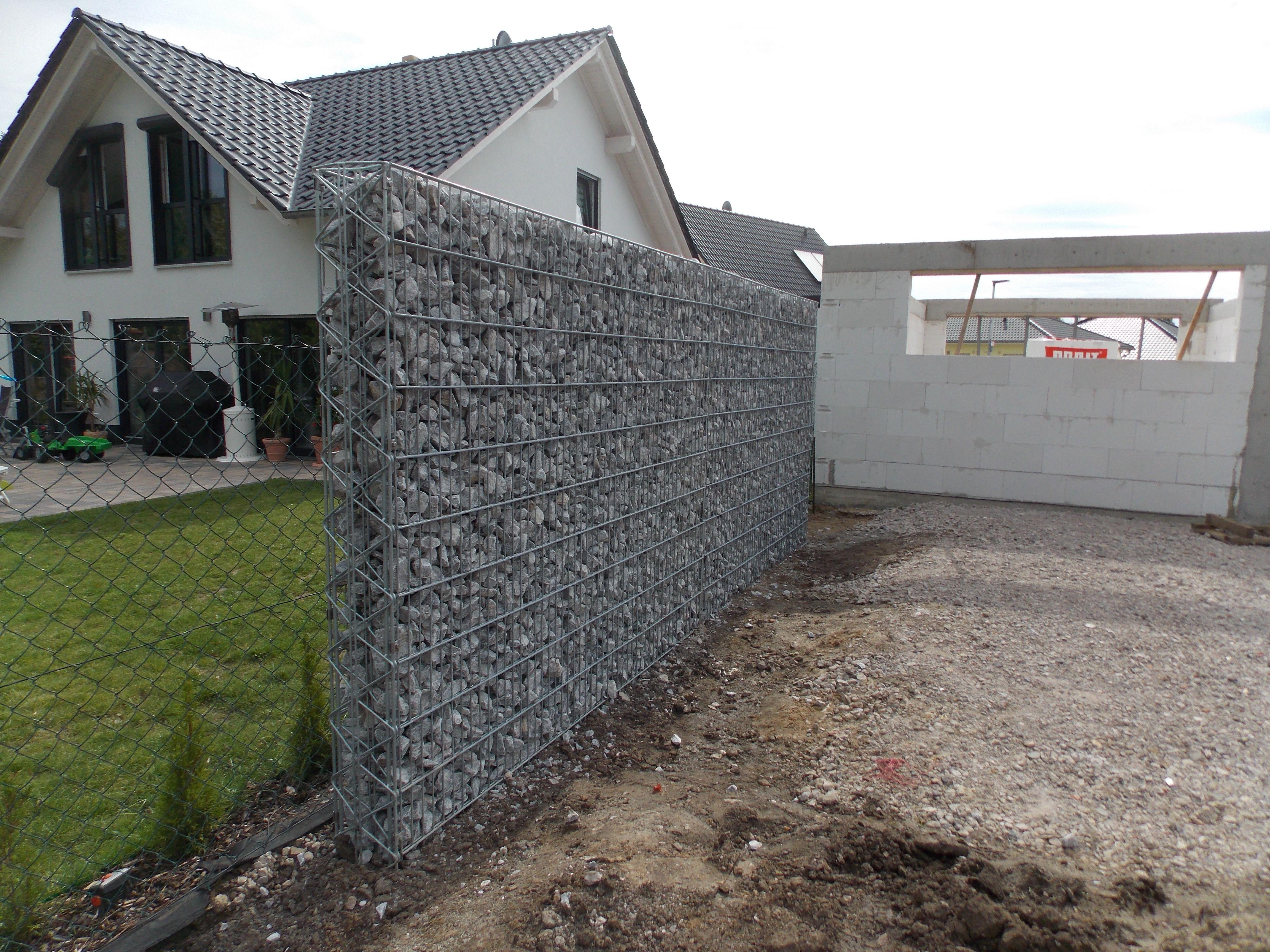 Pin auf Gabionenzäune & Wände Blickdicht und Langlebig