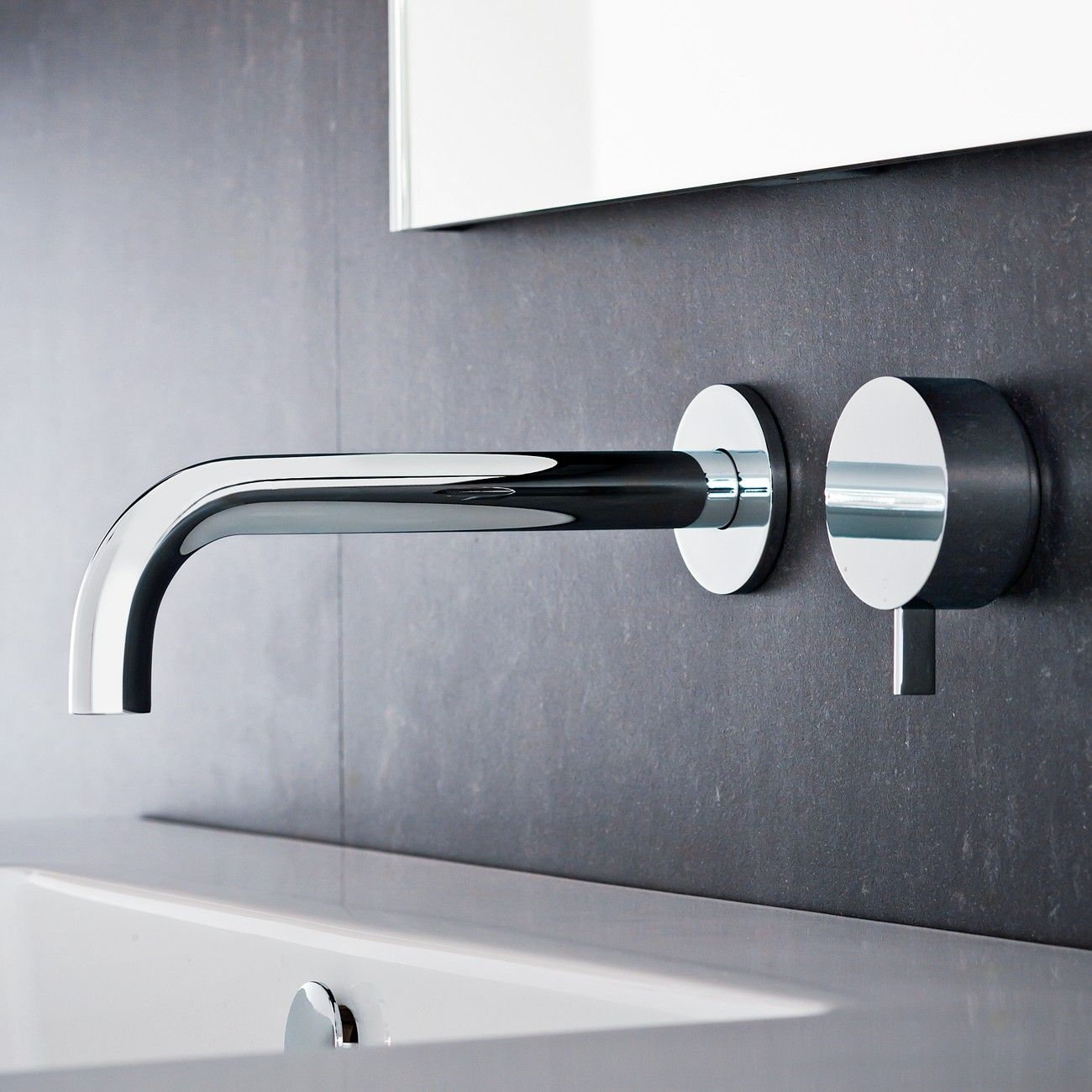 Bathroom tap designs - Love The Simple Modern Temp Control Leading Italian Manufacturer Fantini Commissioned One Of The World S Most Influential Designers Naoto Fukasawa
