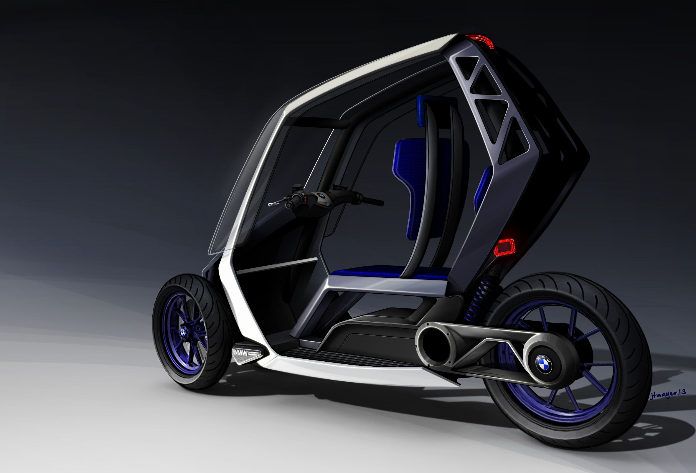 BMW C1+ Project  by Jean-Thomas Mayer / ISD