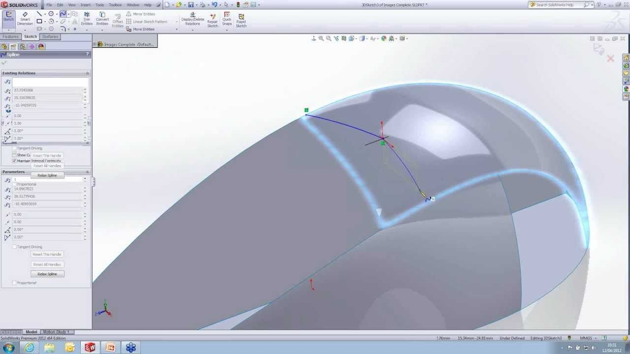 Introduction to Surface Modelling in SolidWorks [Webcast]