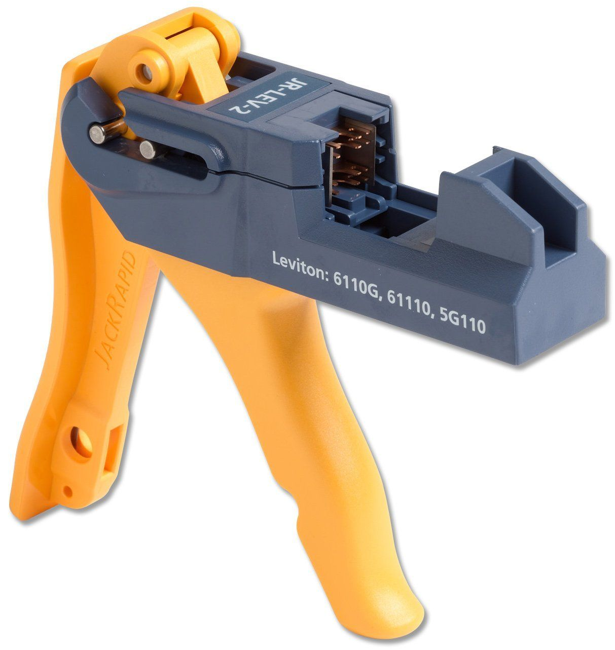 Fluke Networks JR-LEV-2 JackRapid Punch Down Tool for Leviton 61110 ...
