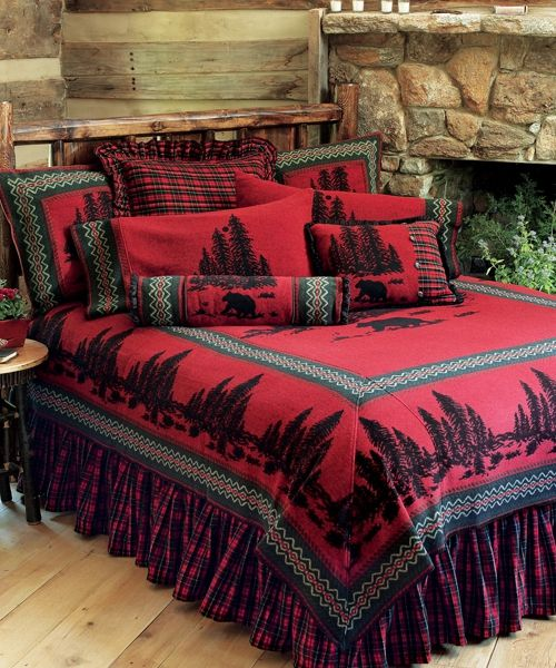 Wooded River Bear Bedding