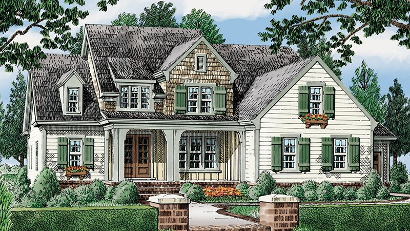 Looking For The Best House Plans Check Out The Statesboro Plan From Southern Living Country Style House Plans Southern Living House Plans Country House Plans