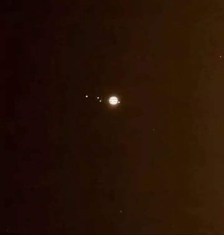Jupiter and Saturn swing by the moon this week ahead of a