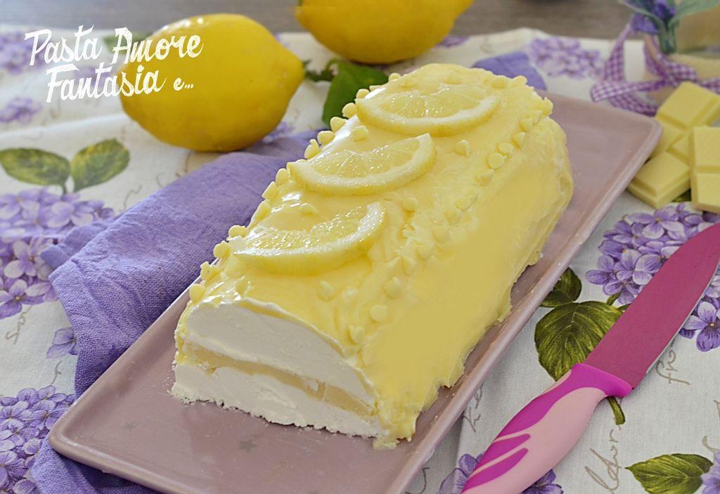 abbastanza Semifreddo al limone e cioccolato bianco | Cioccolato bianco  RQ53