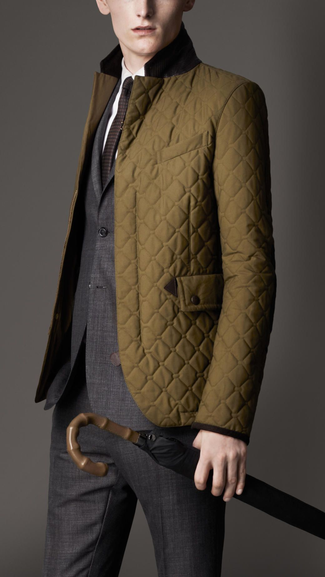 Men S Quilted Jackets Puffers Burberry Official Quilted Jacket Men Quilted Jacket Mens Outfits [ 1849 x 1040 Pixel ]