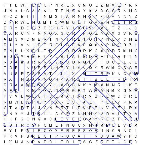 Image Of Woodworking Word Search Puzzle Key Things To Wear