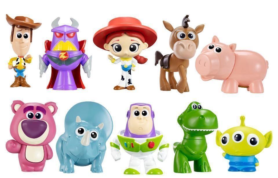 Mini Personaggi Toy Story Mattel