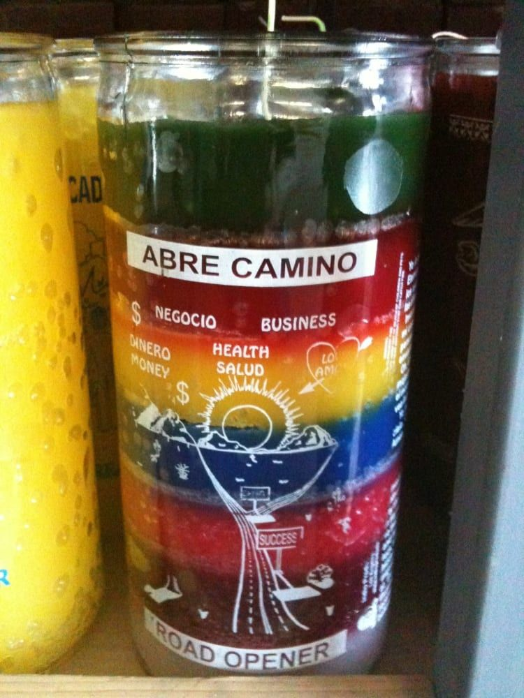 The way I do a simple Abre Camino Candle Spell is to dress a