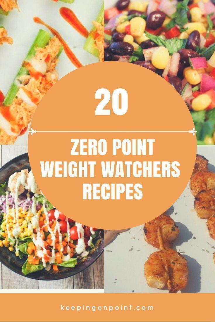 20 More Zero Point Recipes 2018 Ww Program Weight