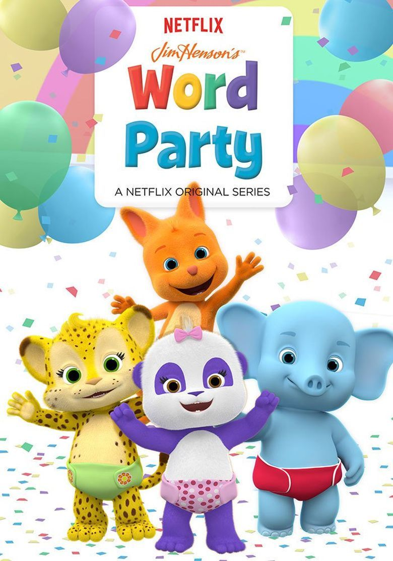 Https Reelgood Com Show Jim Hensons Word Party 2016 Party Cartoon Jim Henson Creature Shop 1st Birthday