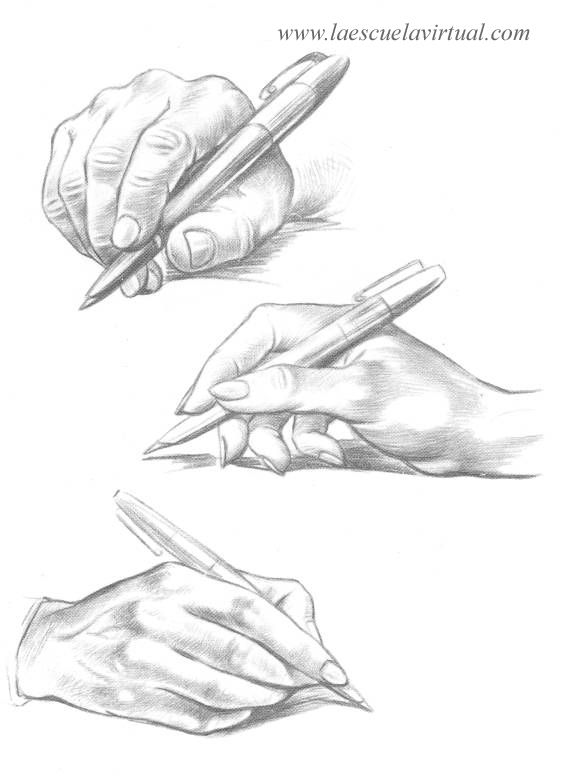 Dibujo de puo I by Roberto Almarza pencil drawing hand Ms