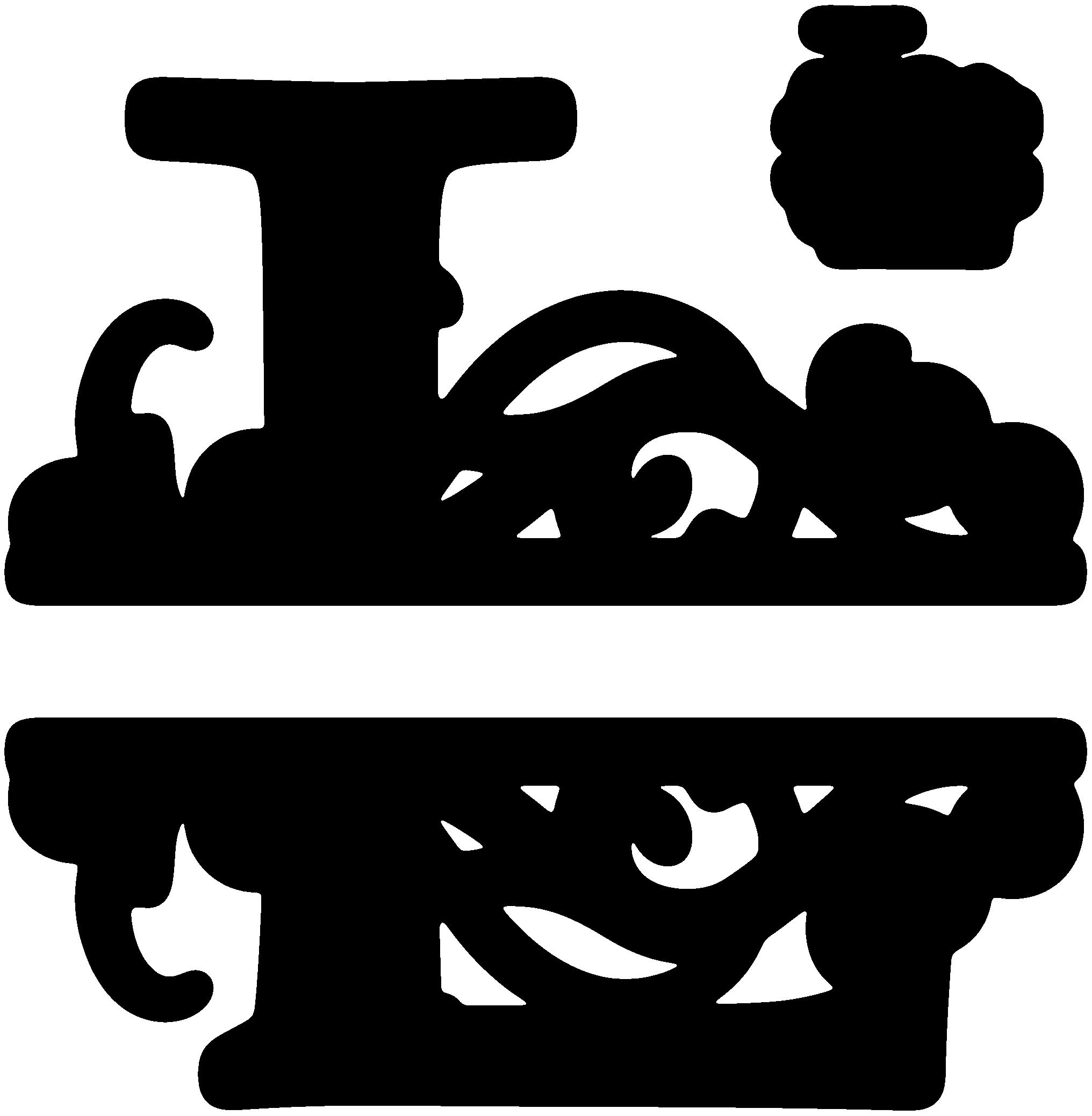 L Split Monogram Sds L Split Monogram