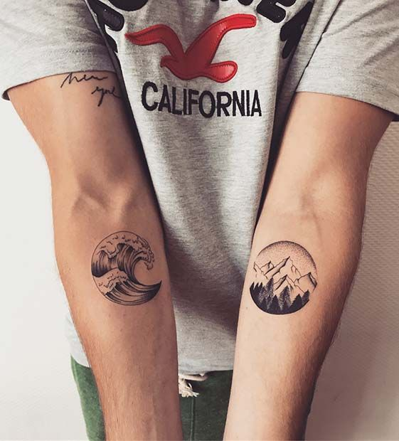 23 Awesome Brother and Sister Tattoos to Show Your Bond | Page 2 of 2 | StayGlam