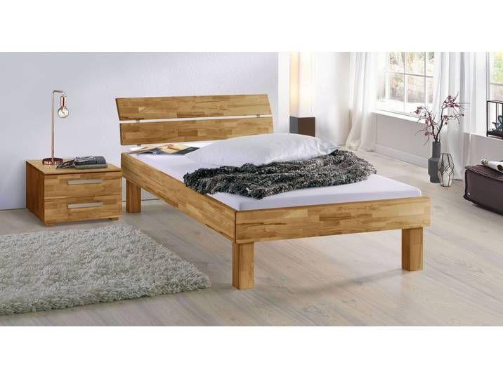 Photo of Senior bed 140×220 cm beech wenge-colored – Madrid comfort – BETTEN.de