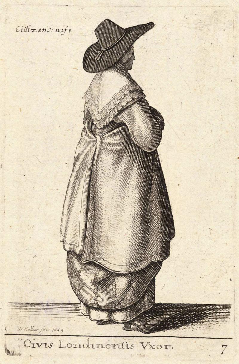 1640s: Wenceslaus Hollar's Fashion Engravings