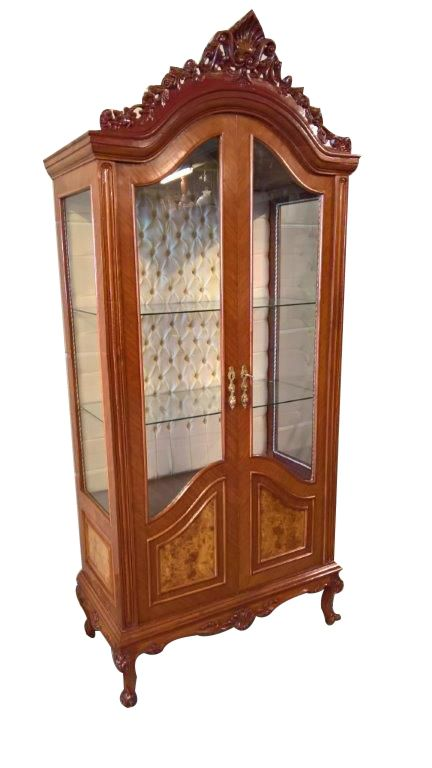 Sold Vintage Italian Baroque China Or Display Cabinet