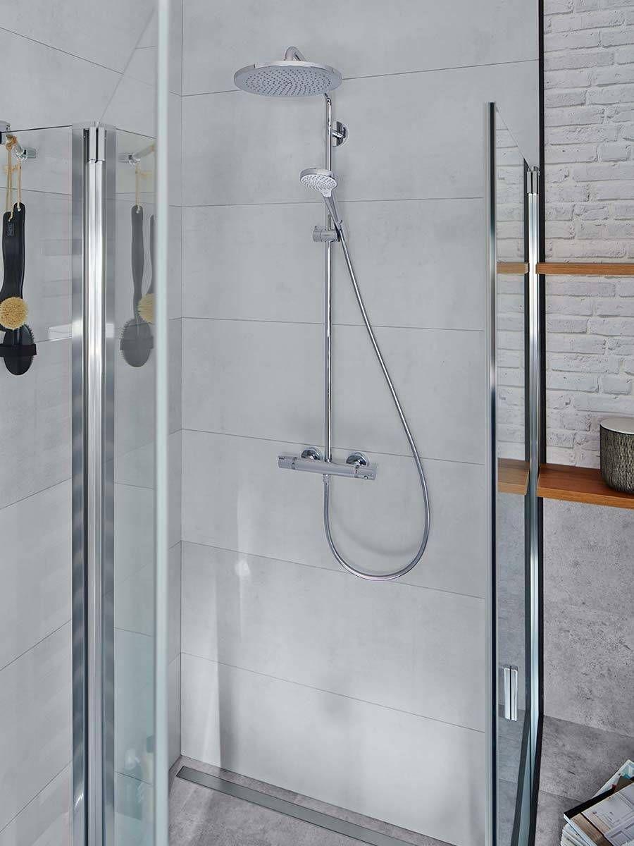 Industrial Design Inspiration The Elegant Showerpipe Ensures