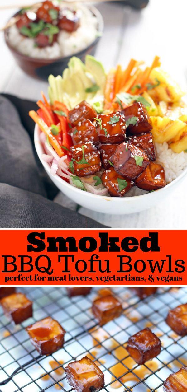 Smoked Bbq Tofu Bowls Vegan
