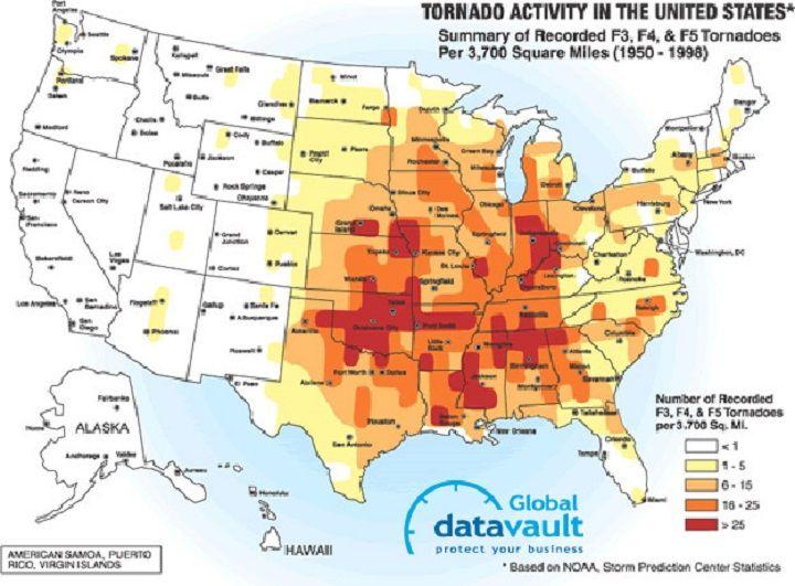 Tornado Risk Map map tornado risk | Retreat Location Maps | Tornadoes, Tornados  Tornado Risk Map