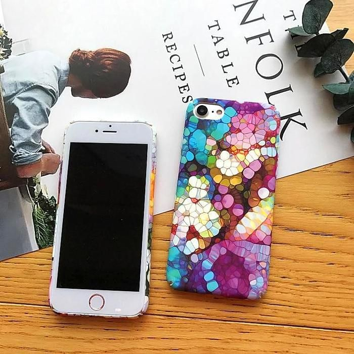 Exquisite Stone Art Iphone Case Stone Art Art Case Art Projects