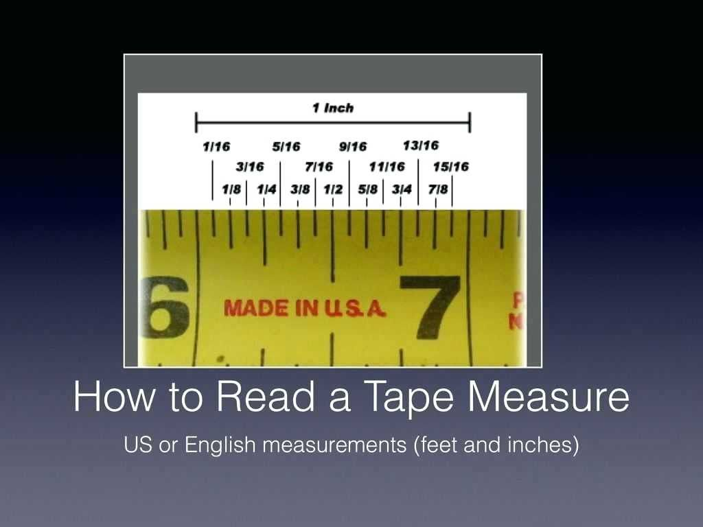 Reading A Tape Measure Worksheet In