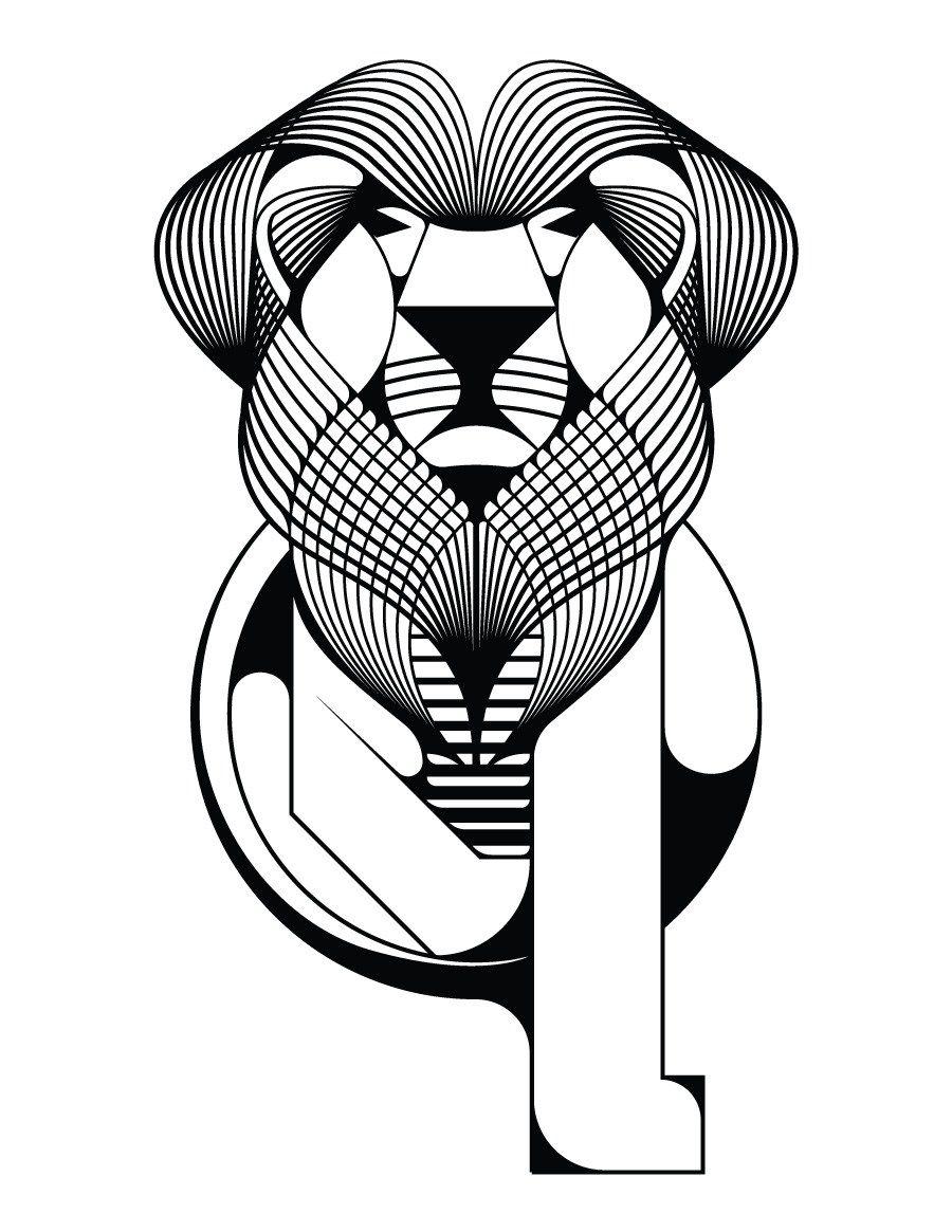 Lion à Imprimer Gratuit Pour Colorier Facile Awesome Animals