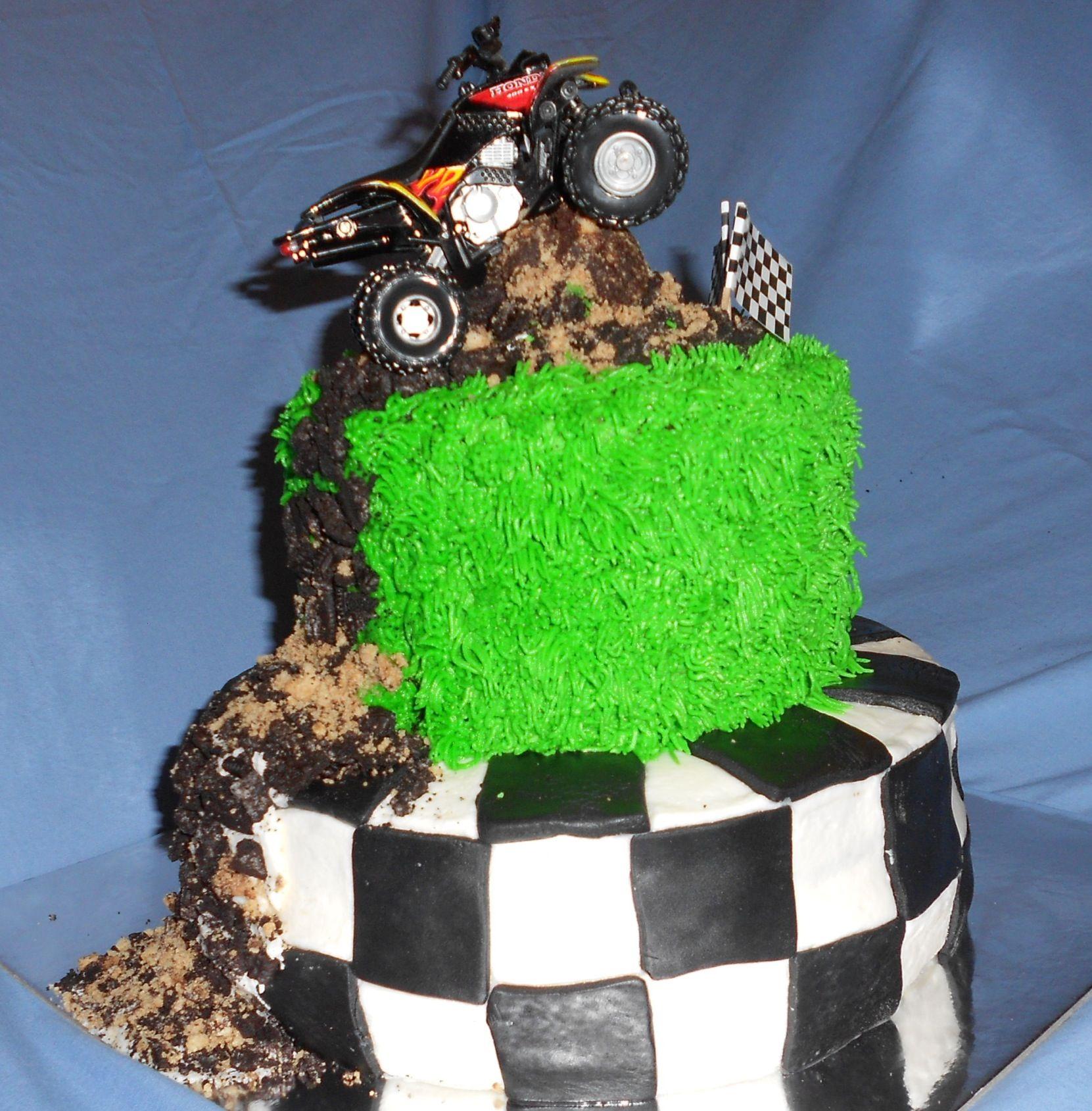 Quad Birthday Cake Cake Recipe