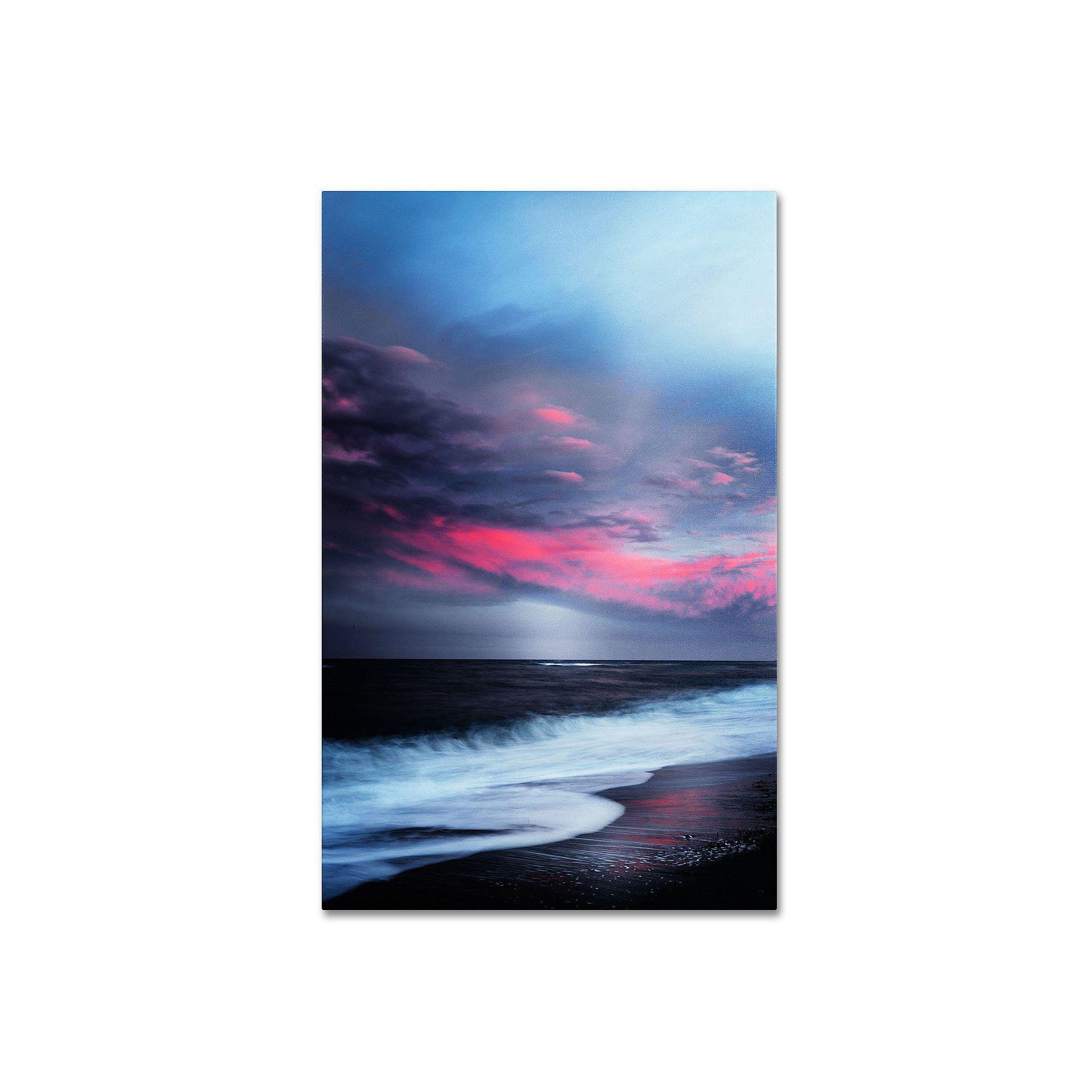Trademark Fine Art Salt Water Sound Canvas Wall Art Fine Art Landscape Landscape Canvas Canvas Wall Art